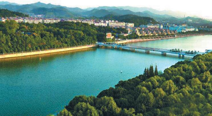 啊须江,我美丽的母亲河!
