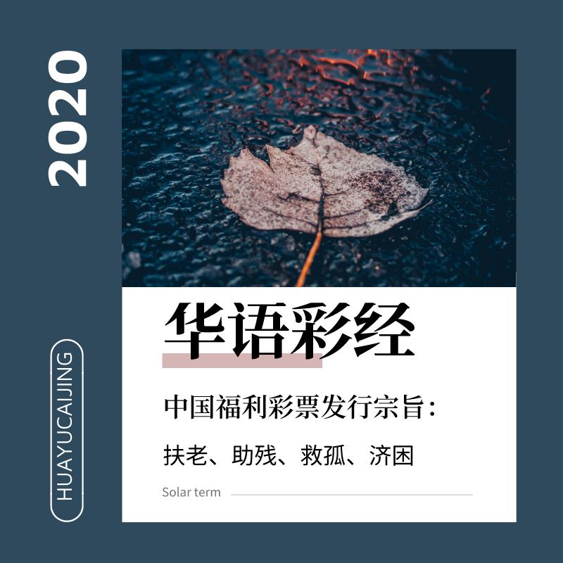 华语彩经2020